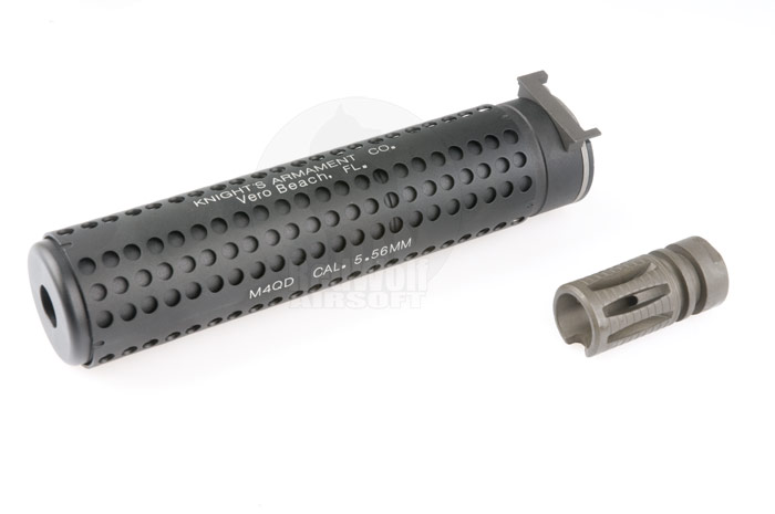 G&P QD Silencer with SR16 Flash Hider (CW 14mm)