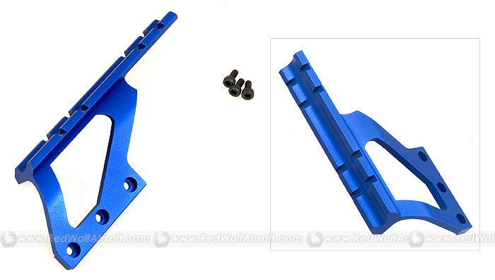 G&P Scope Mount Base (Long, Blue) for Marui Hi Capa