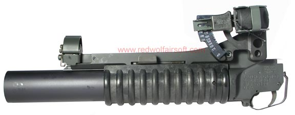 G&P Military Type Full Metal M203 Grenade Launcher DX (Long)