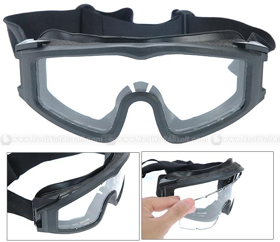 G&P OEF Series Goggles (3mm PC Glasses)<font color=red> (Clearance)</font>