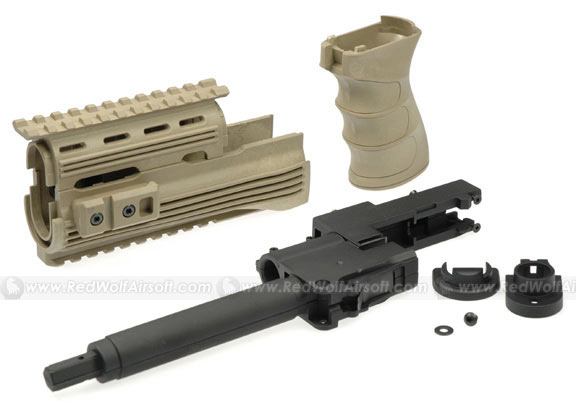 G&P Tactical Front Set with Grip for AK47 (Sand)