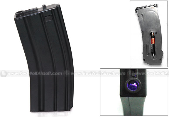G&P 130rds Illuminated Magazine for Marui M4 / M16 Series
