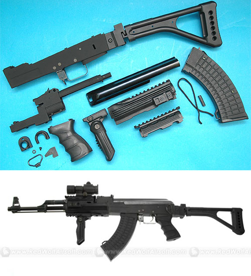 G&P AK47 Kit with Folding Stock (BK)