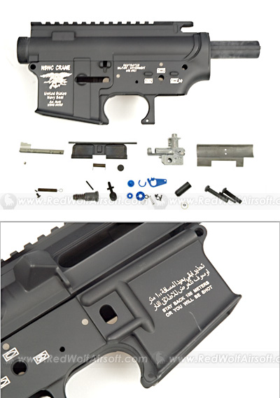 G&P NSWC Metal Receiver for Marui M4A1(A Type)