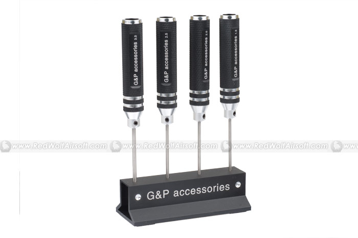 G&P Precision HEX Screwdriver Tool Set