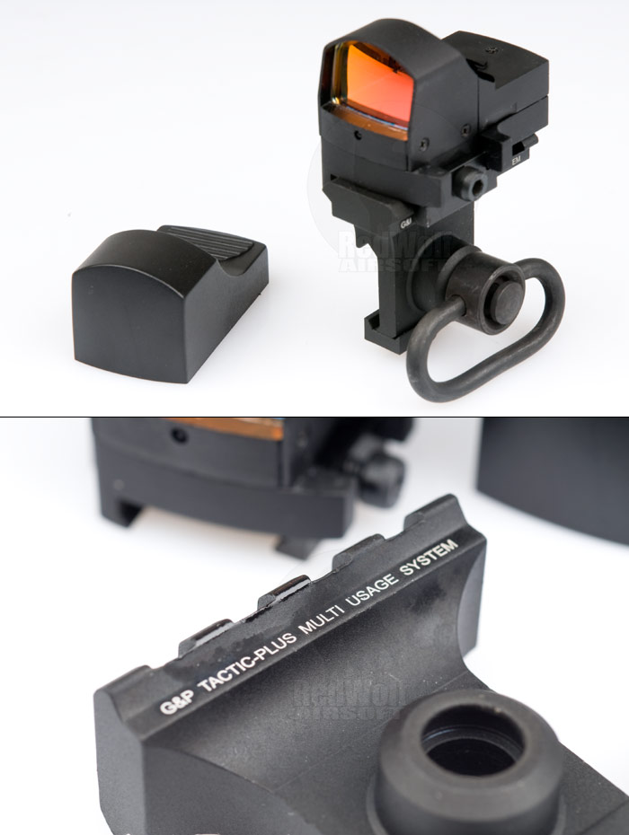 G&P 0P Type Red Dot Sight Scope with Side Mount