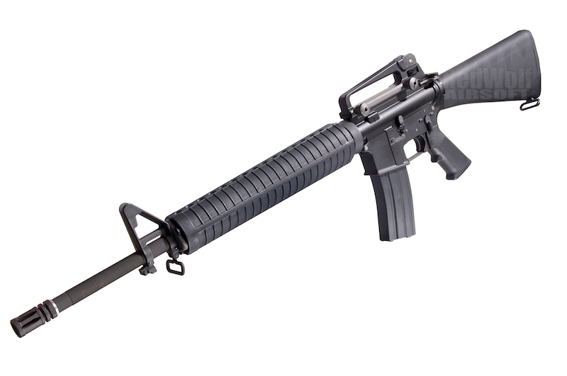 WE M16A3 Open Bolt Version<font color=red> (Holiday Blowout Sale)</font>