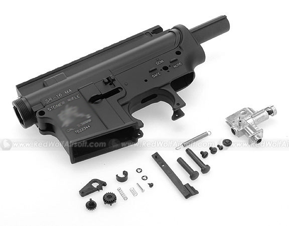 Hurricane Metal Body with Hop-Up Chamber for M4 Series (SR16 ) w/ Functional Ejection Port