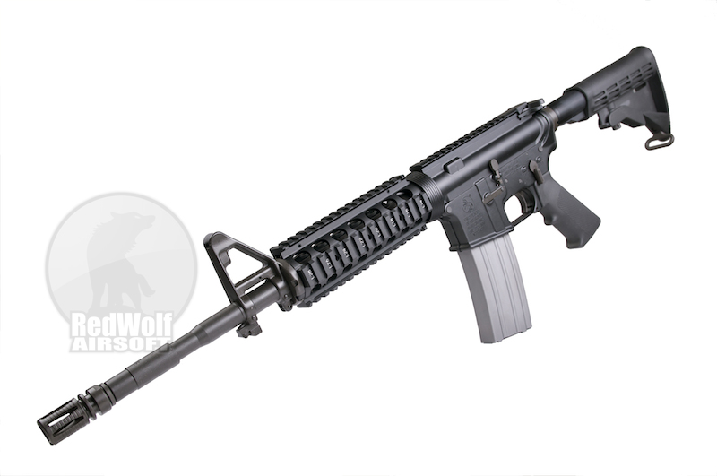 Inokatsu M4 MTW SOPMOD Gas Blowback Rifle (SUPER VERSION) w/ FREE MAGAZINE <font color=red>(Free Shipping)</font>