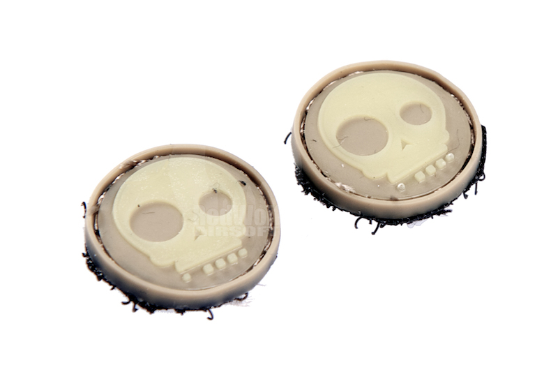 James Velcro Ranger Eyes (Type G / Cartoon Skull / Sand)