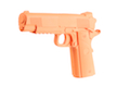 James Weekend Warrior Plastic 1:1 Dummy MEU Pistol - Orange