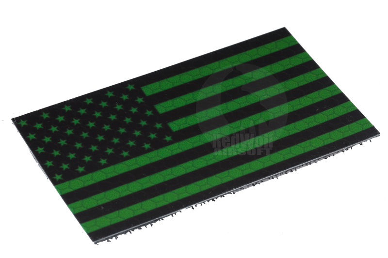 King Arms IFF US Flag (Green / Small)