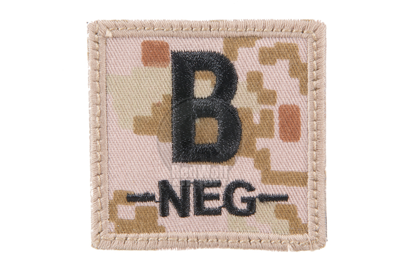 King Arms Cube Blood Type Patch - MD- B-
