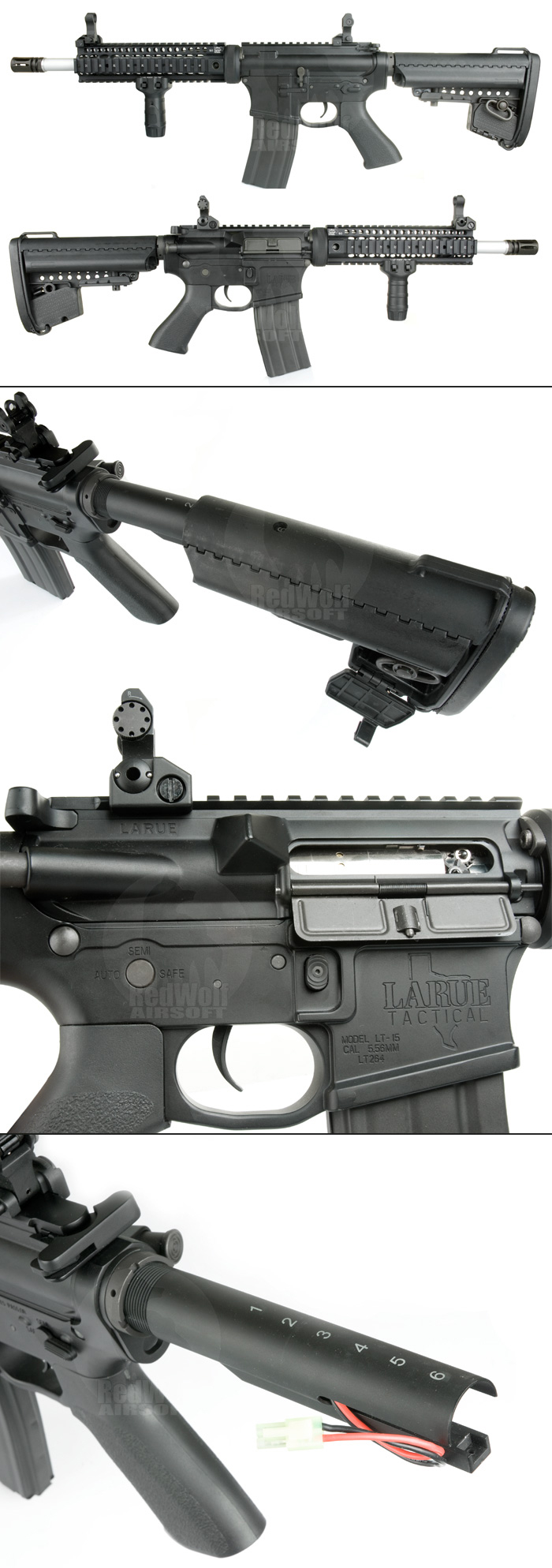 King Arms 9.0 inch LR Tactical Rifle