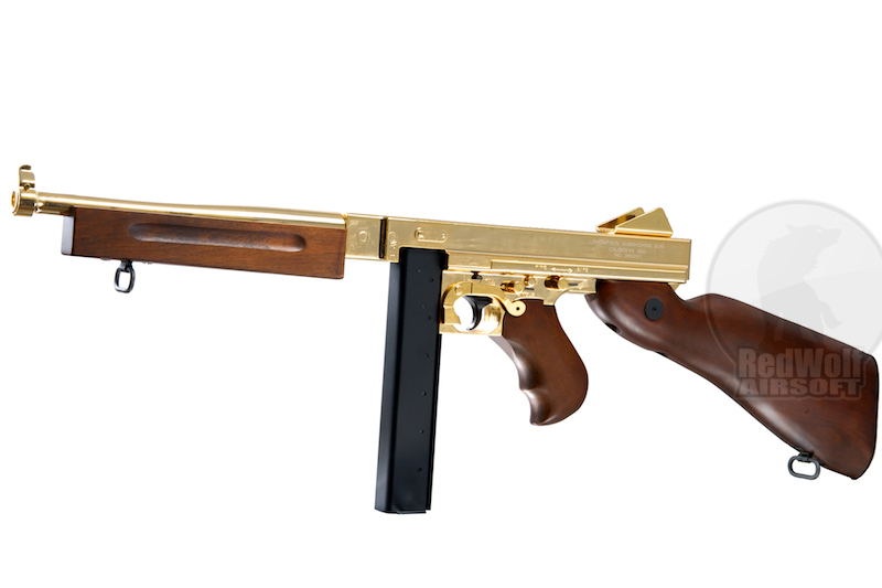 King Arms Thompson M1A1 Military (Gold)