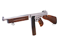 King Arms Thompson M1A1 Military (Silver)