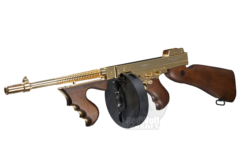King Arms Thompson M1928 Chicago (Gold)