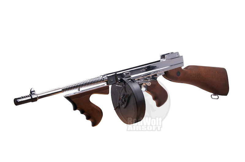 King Arms Thompson M1928 Chicago (Silver)