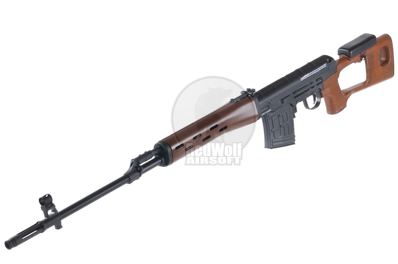 King Arms Kalashnikov Sniper Rifle (AEG version) - Wood Pattern