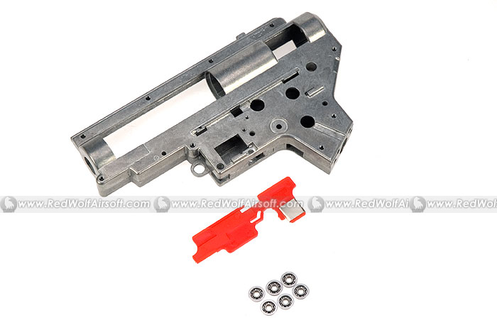 King Arms Ver.2 8mm Bearing GearBox with G3 Selector Plate