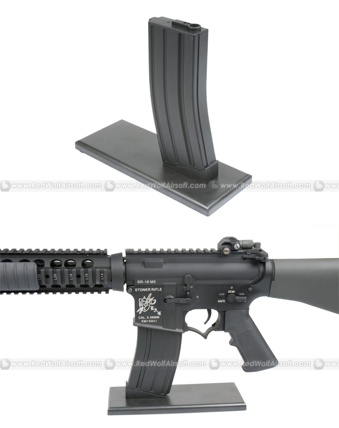 King Arms Display Stand for M4 / 16 Series AEG