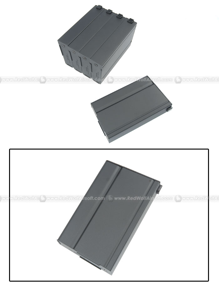 King Arms 70rds Mag for Marui M14 Box Set 5pcs