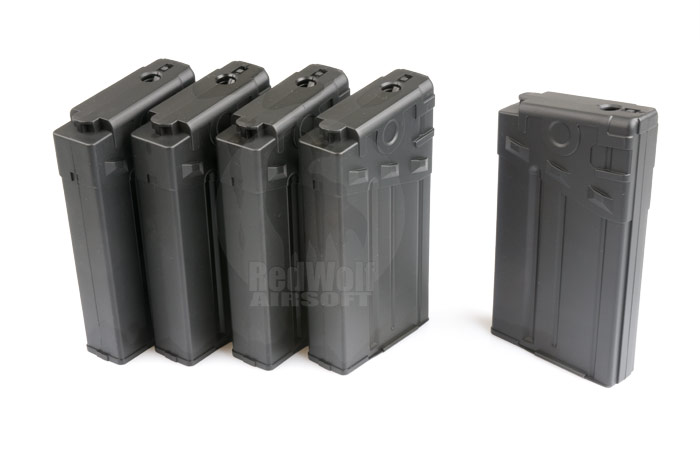 King Arms 110rds Magazine for Marui G3 Series (5pcs Box Set)