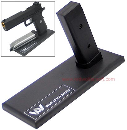 King Arms Display Stand for Pistol -SV/ Western Arms