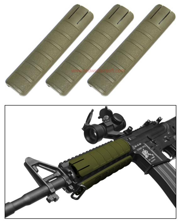 King Arms Rail Cover - 156mm / OD