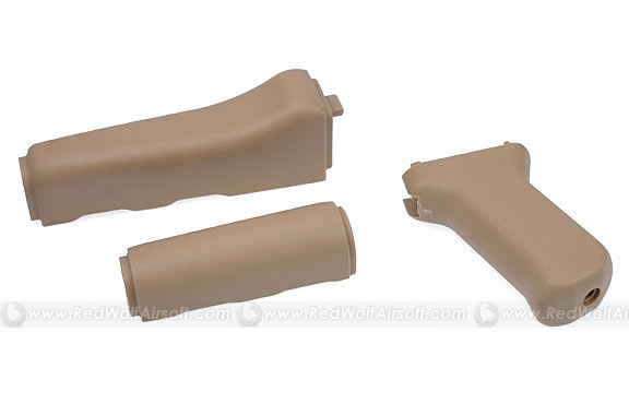 King Arms AK47 Style Handguard/Grip (Tan)