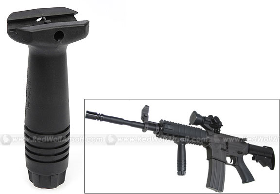 King Arms Vertical Force Grip (Black)