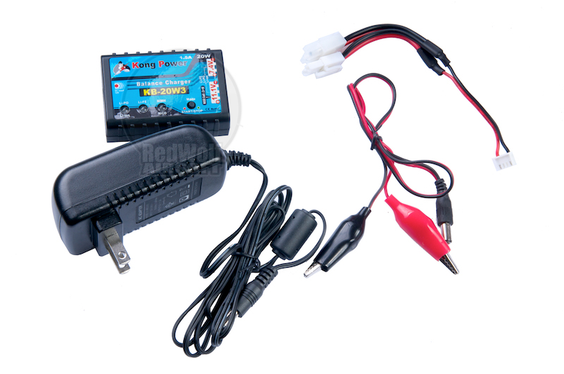 Kong Power 20W3 LiPo NiMH NiCad Charger For US