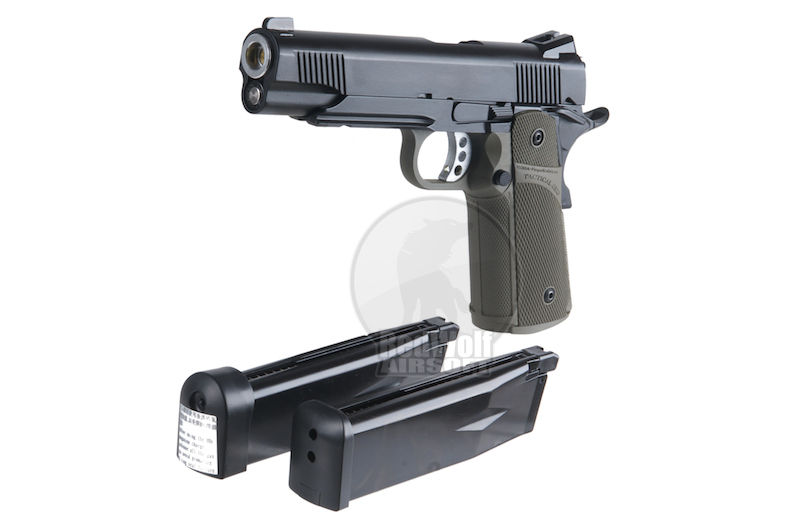 KJ Works KP-05 HI-CAPA (Full Metal, Gas and CO2) (OD)