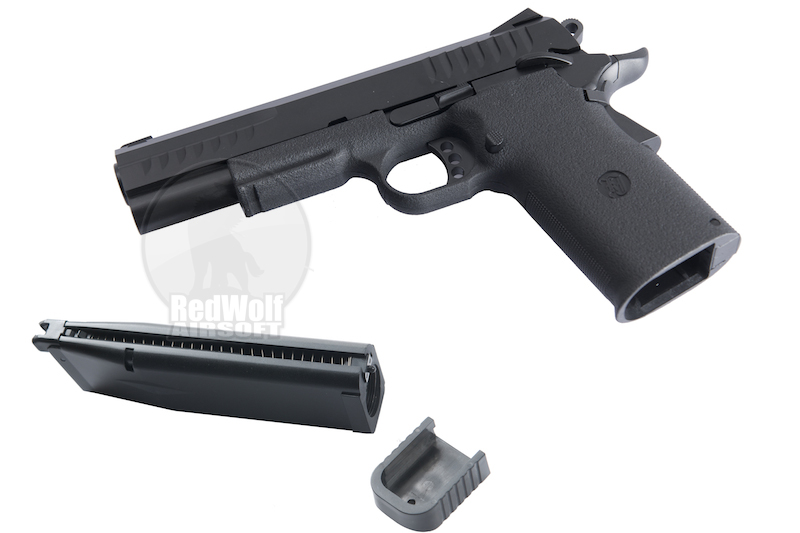 KJ Works Kimber KP-08 Pistol (Co2 Version) hi capa