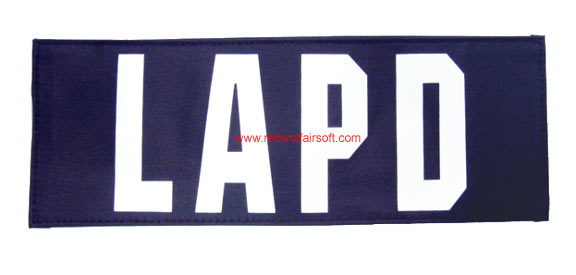 MilSpex LAPD Patch - Large<font color=red> (Holiday Blowout Sale)</font>