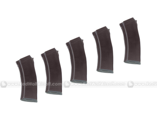 MAG AK74 100rds Mag 5 Box Set for Marui AK (Plum)