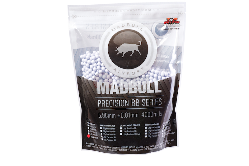 MadBull Precision 0.25g Match Grade BB 4000 rds (Bag)