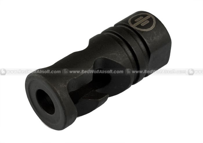 Madbull Primary Weapons Aluminum DNTC Compensator (Black / 14mm CW)