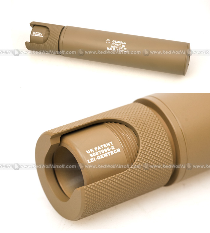 Madbull Gemtech Halo Silencer (Export Version) (TN)