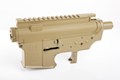 Madbull M4 Metal Body Ver.2 w/ Self Retaining Pins & Shortened Stock Tube (Gemtech Marking) - FDE