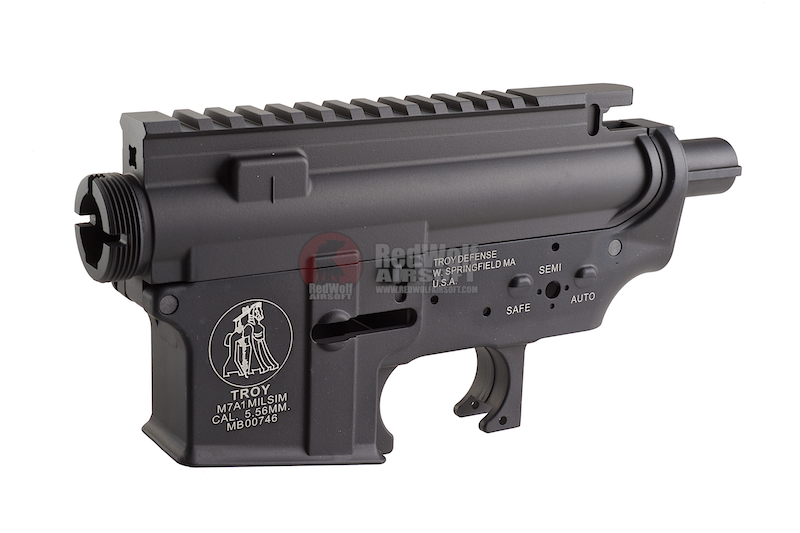 Madbull M4 Metal Body ver.2 w/ self retaining pins and shortened stock tube (Troy Marking)