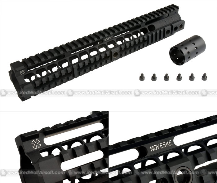 Madbull - Noveske Rifleworks Free Float 12.658inch Handguard Rail for M4 Series AEG