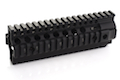 Madbull Daniel Defense Omega X Rail (7 Inch / Black)