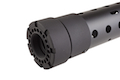 Madbull PRI licensed GIII Round 12.5 inch Rail w/ Extra Adjustable Rail Sections - BK (Mat. Carbon Fiber)