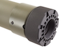 Madbull PRI licensed GIII Round 7 inch Rail w/ Extra Adjustable Rail Sections - OD (Mat. Polymer)