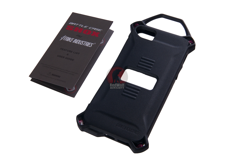 Strike Industries Iphone5 case-SHOX - Black