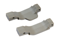 Strike Industries COBRA Straight/Right Polymer Trigger Guard Combo-2 Pack (FDE Tan)