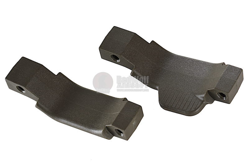 Strike Industries COBRA Straight/Right Polymer Trigger Guard Combo-2 Pack (OD)