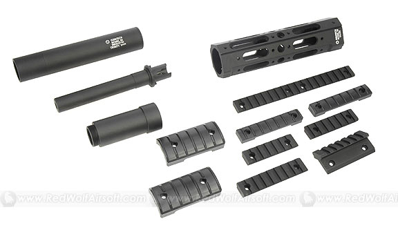 Madbull Talon Modular Tactical Free Floating Forearm with Barrel Extension for M4 series