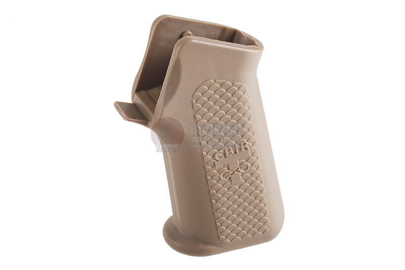 Madbull Troy Battle Ax Grip-CQB with Motor Combo - TAN